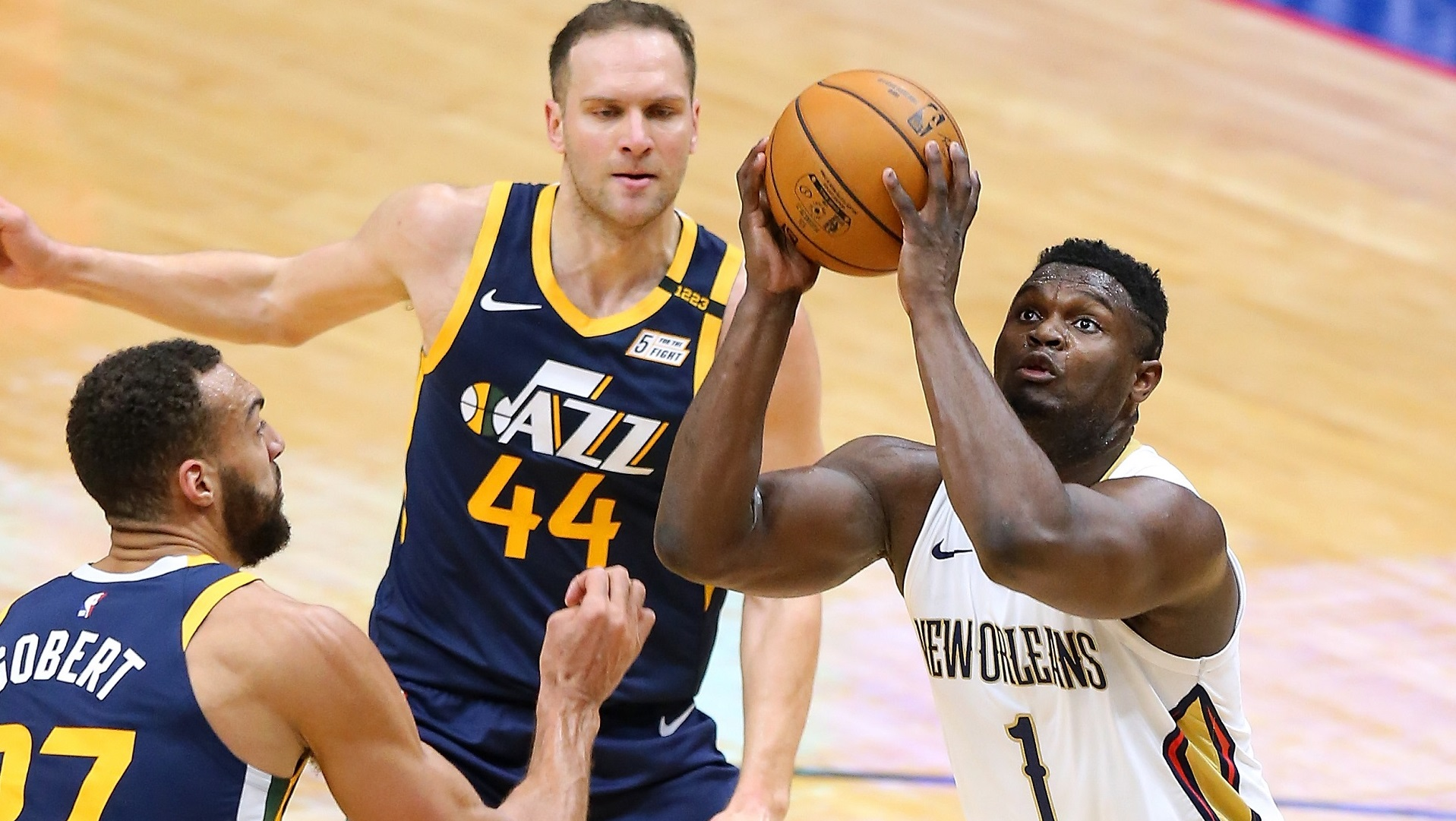 Pelicans coach hails Zion's 'incredible' 15-point quarter in Jazz upset