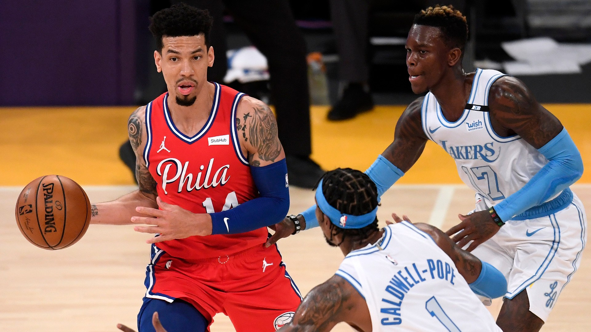 76ers soar as slumping Lakers lose fourth straight, Fox's career high fuels Kings
