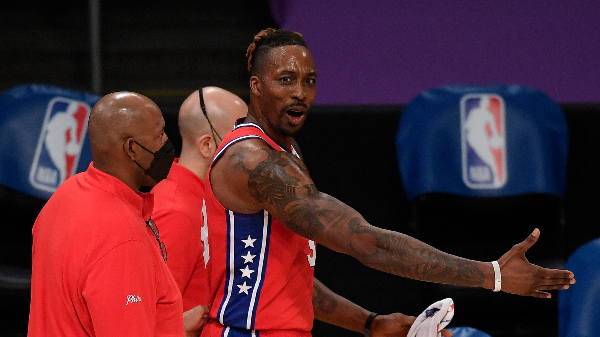 Clowns! Howard's ejection after Harrell clash does not impress Doc Rivers