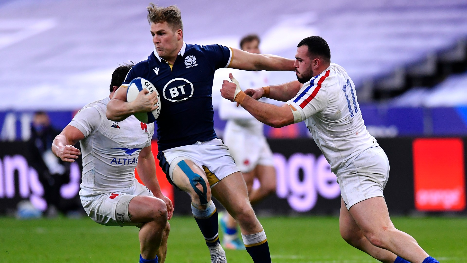 France 23-27 Scotland: Van der Merwe stuns Les Bleus as Wales claim title
