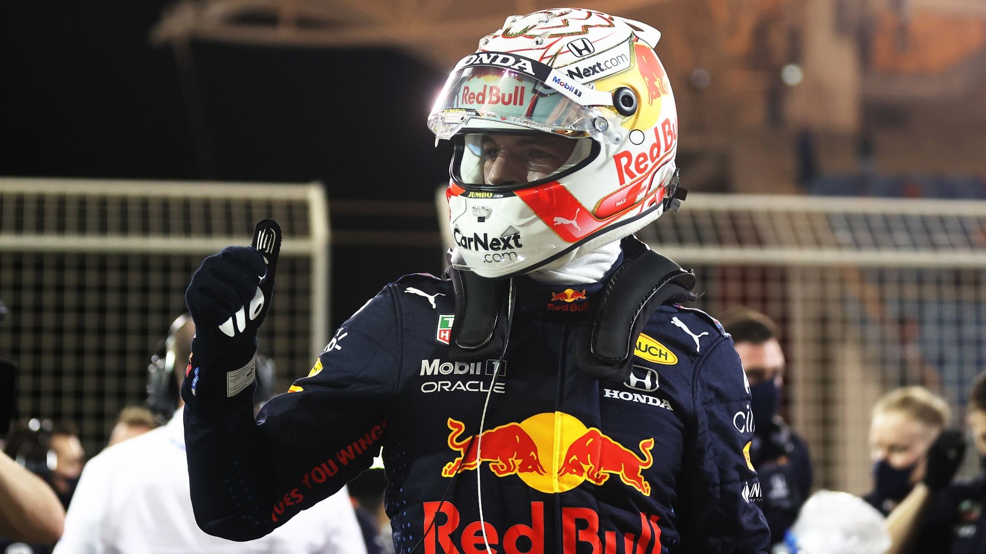 Verstappen storms to Bahrain pole as Hamilton says second 'the best I could do'