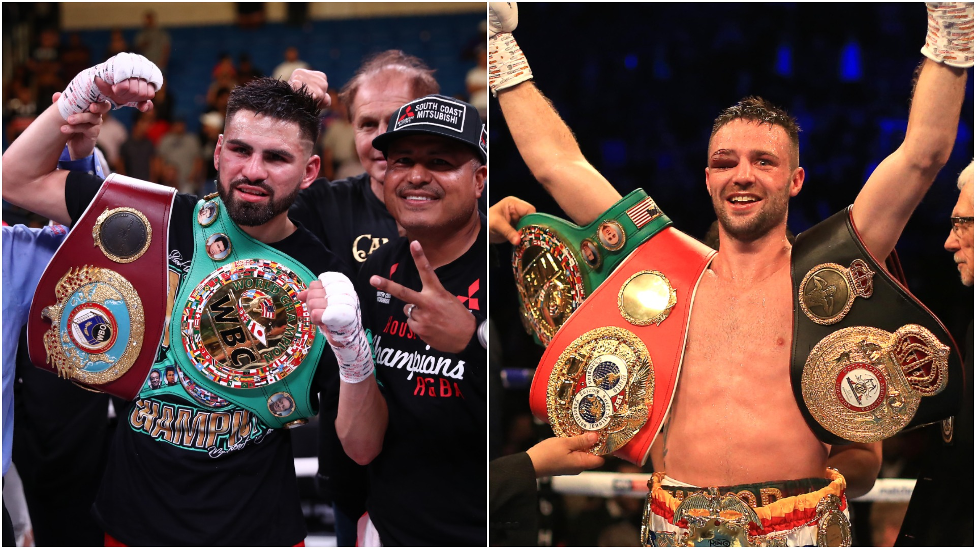 Josh Taylor and Jose Ramirez agree Vegas light-welterweight blockbuster