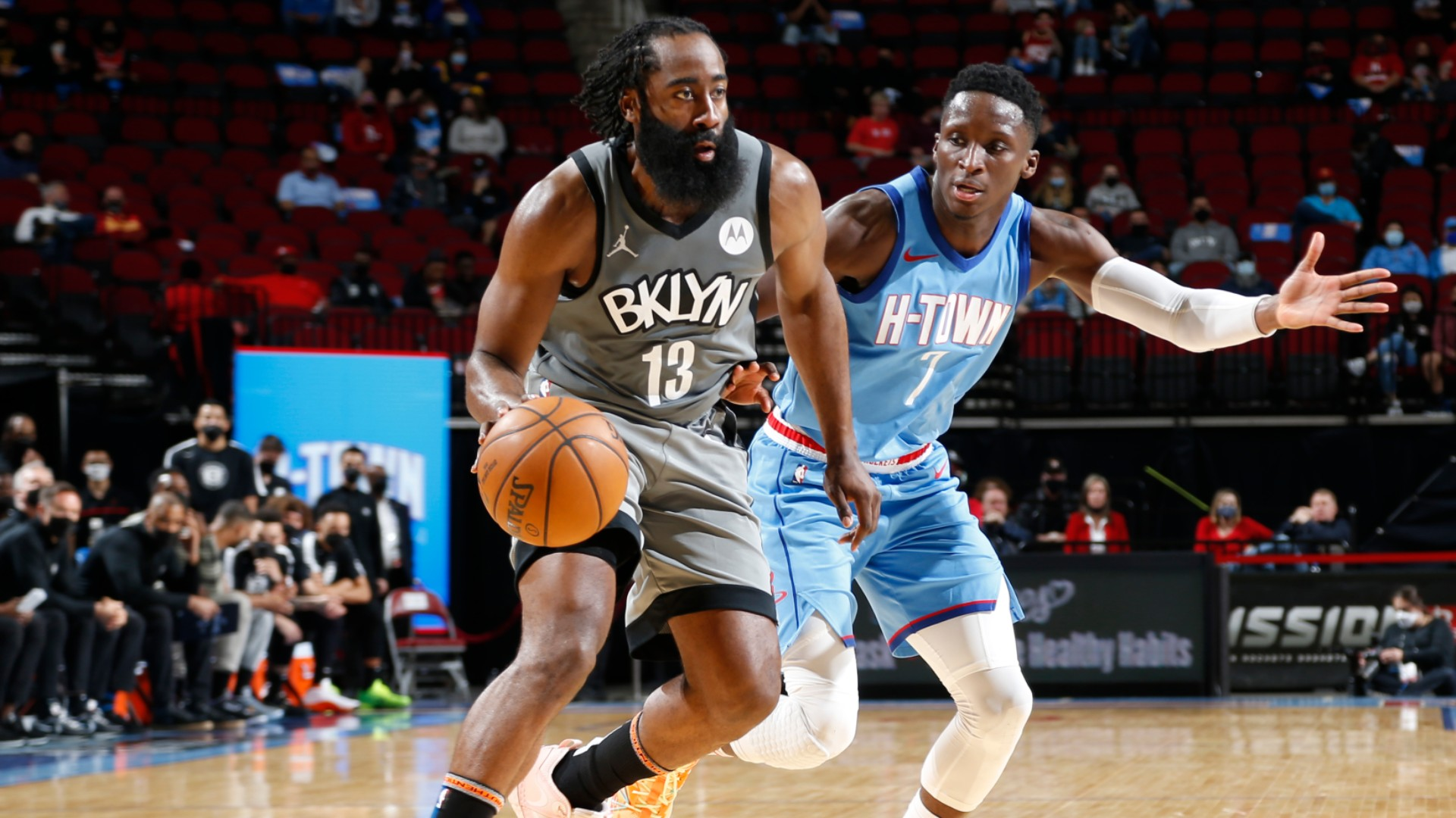 Nets' Harden has triple-double to down former team Rockets: I wasn't trying to show off