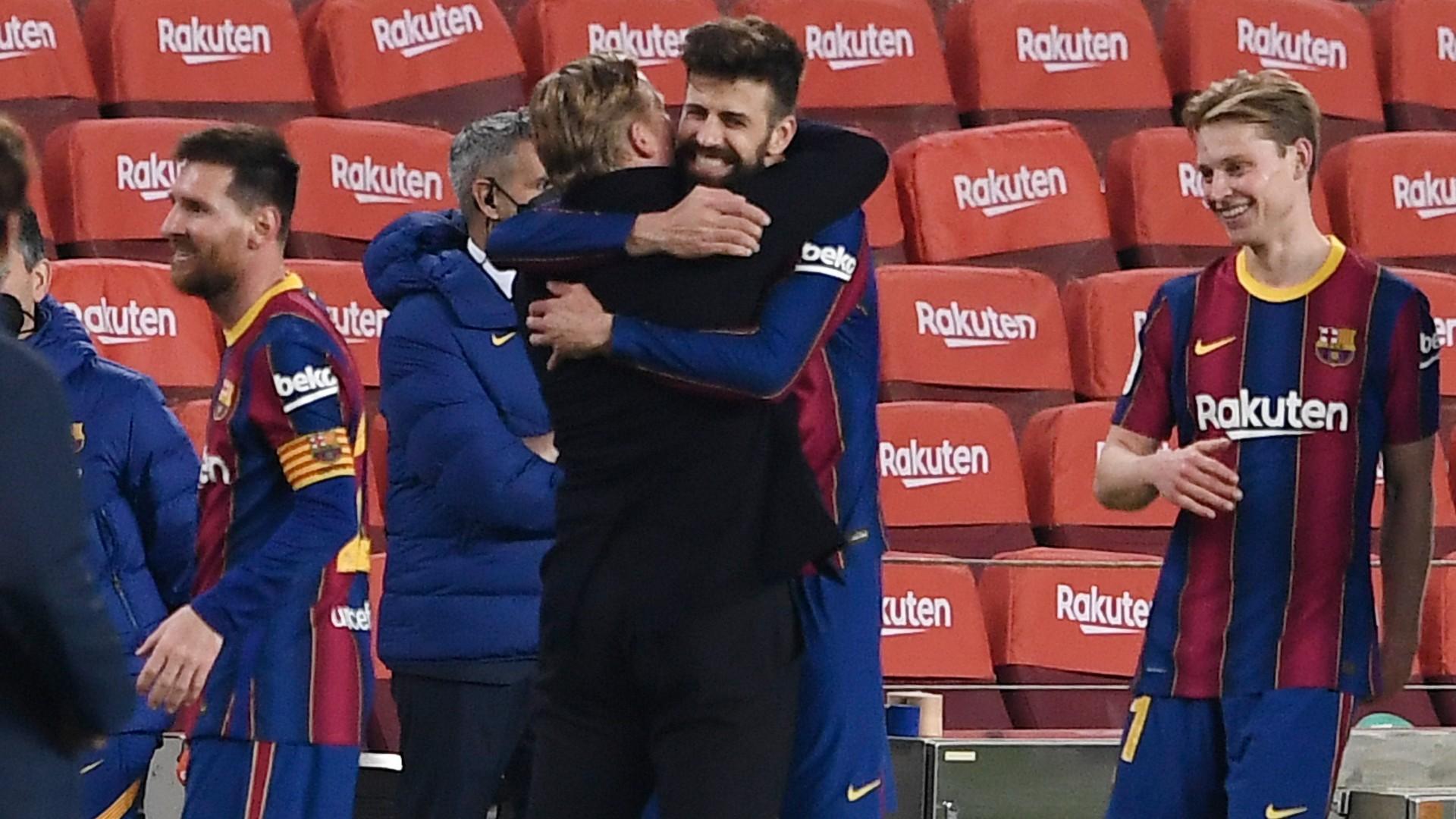 Koeman cools PSG comeback talk after Barca stun Sevilla en route to Copa del Rey final