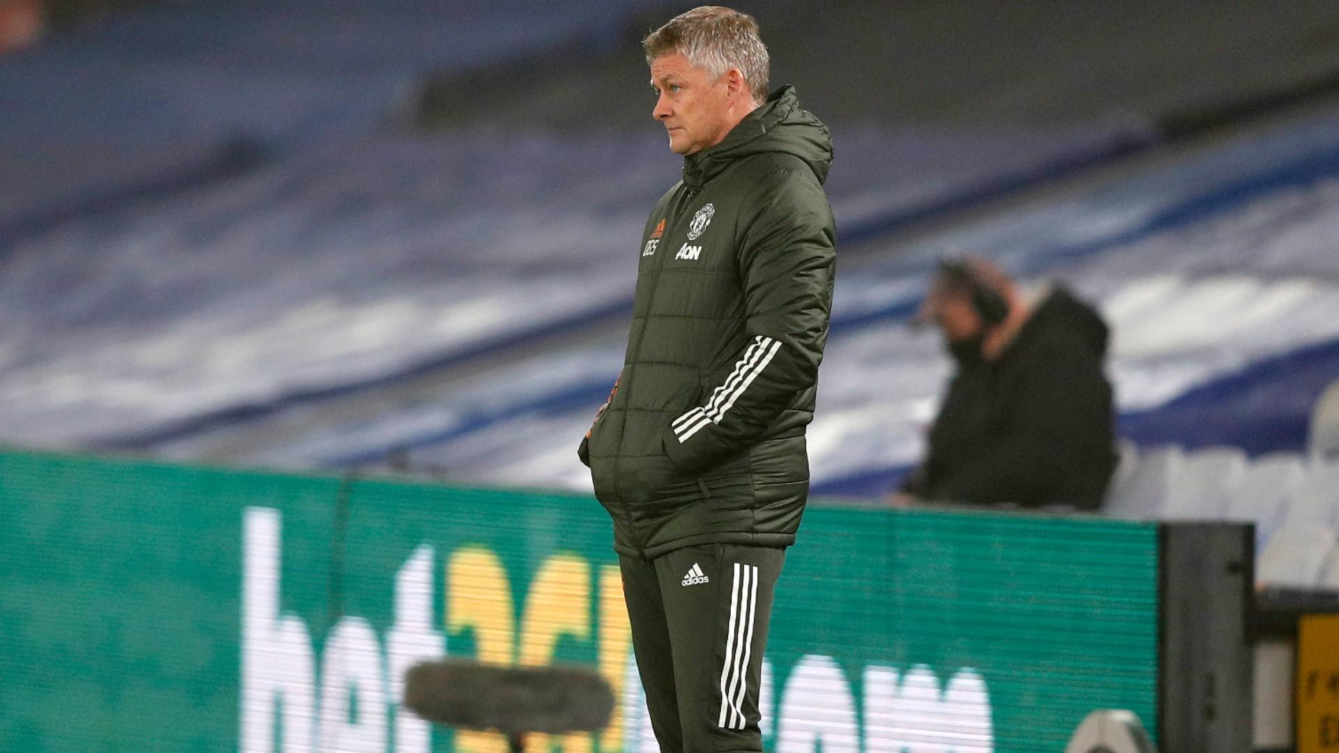 Solskjaer concerned after toothless Man Utd fire another blank in faltering title bid
