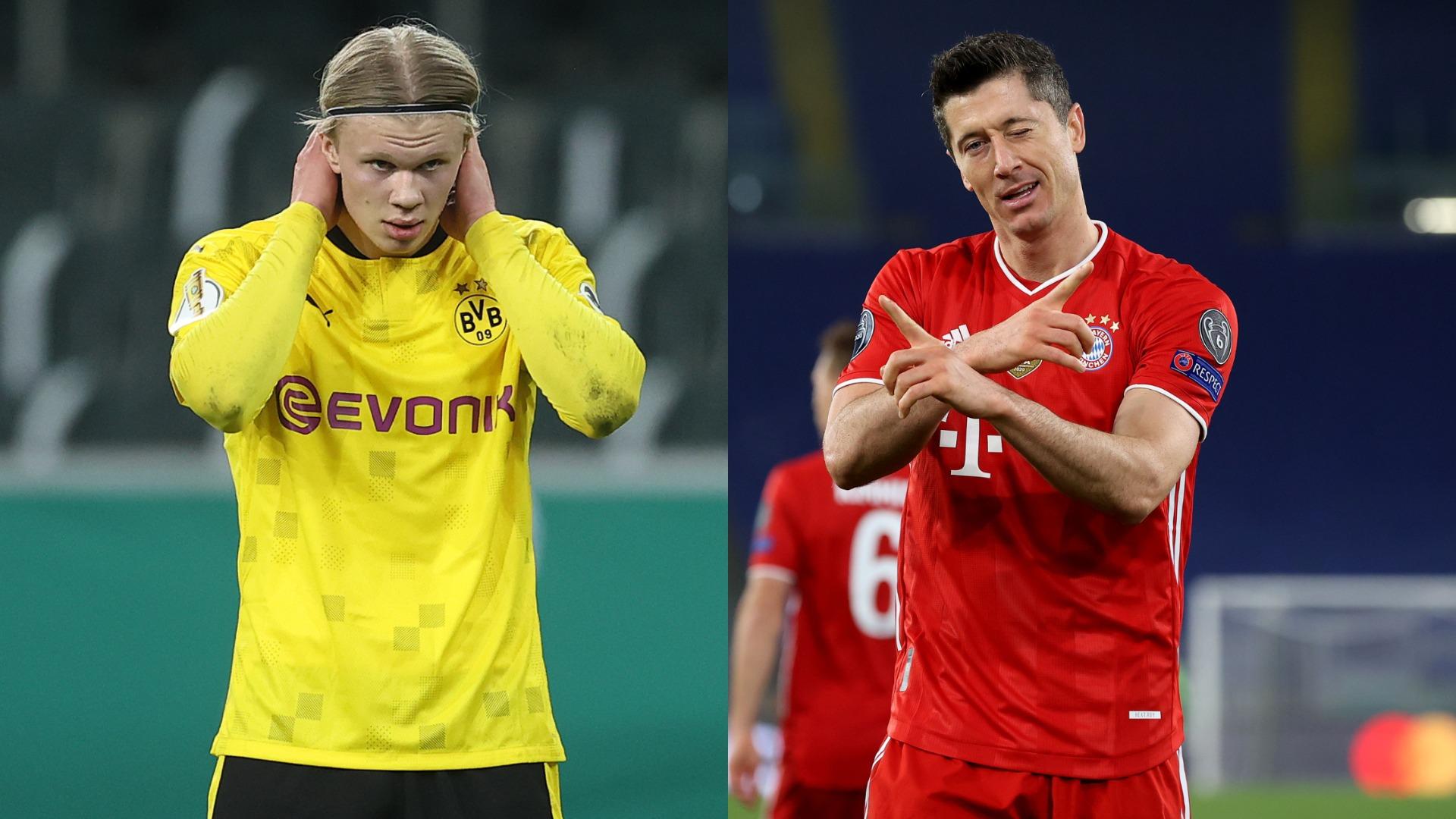 Der Klassiker: Is Haaland already better than Lewandowski?