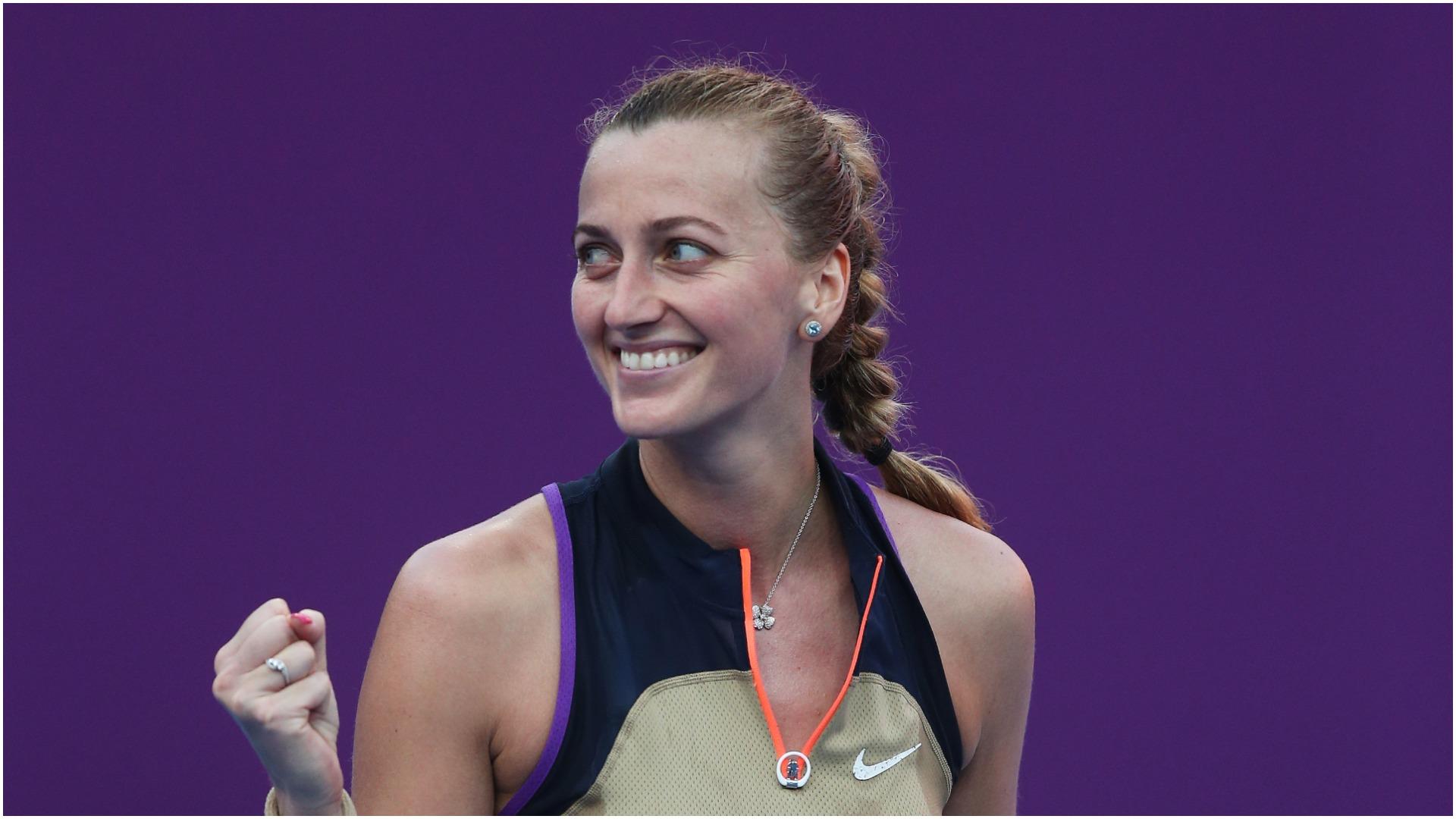Kvitova reaches another Doha semi-final as Pegula ousts Pliskova