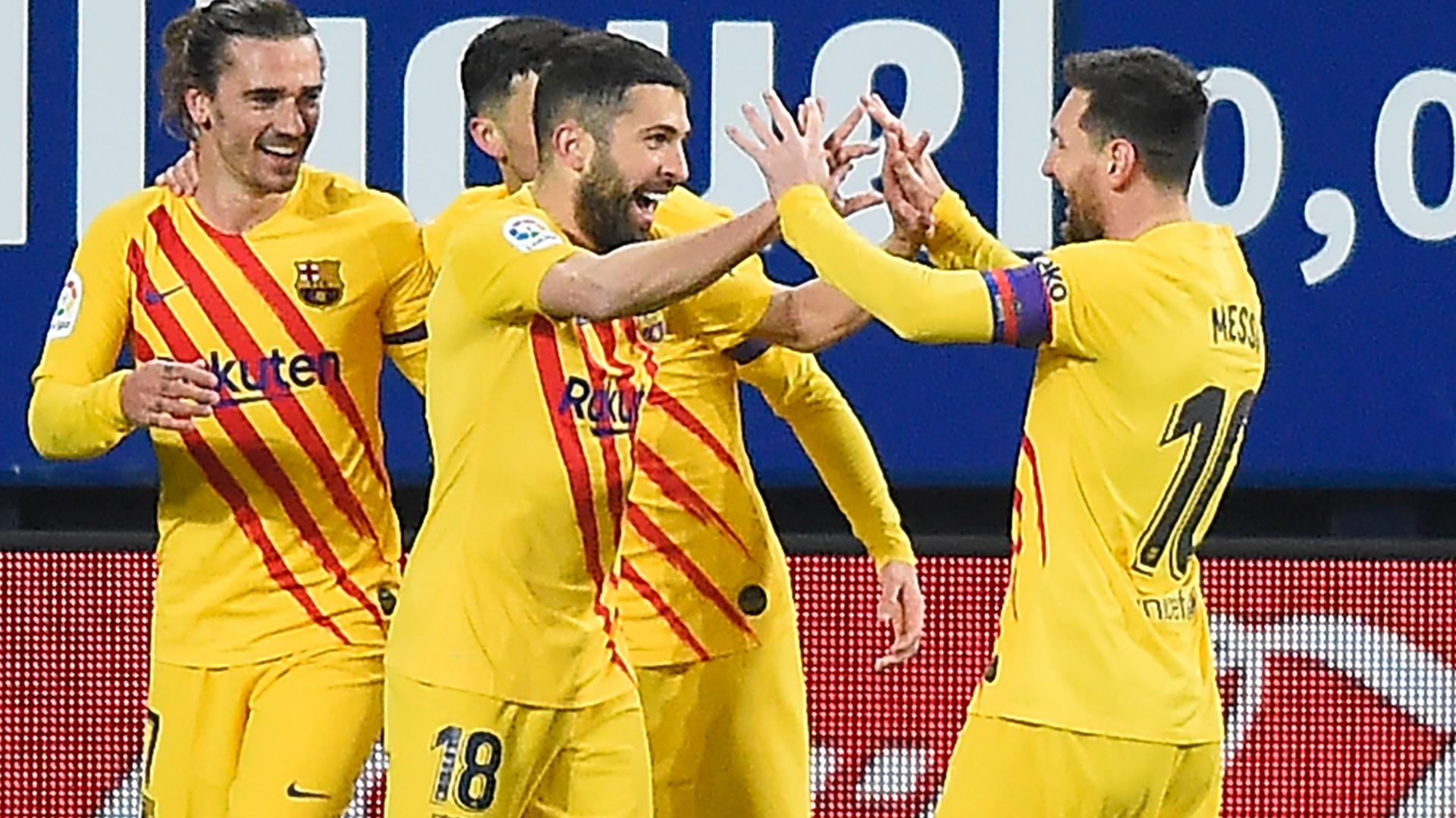 Messi-Alba combination is almost unstoppable – Koeman