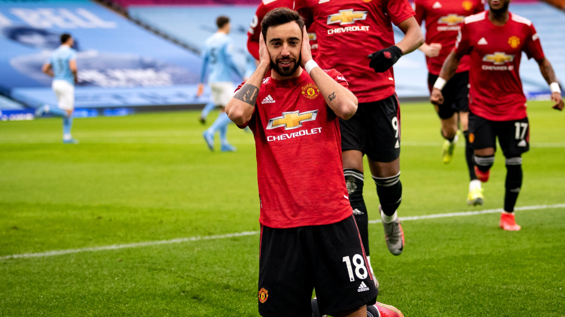 Bruno Fernandes dismisses critics after derby win: People will always complain about everything