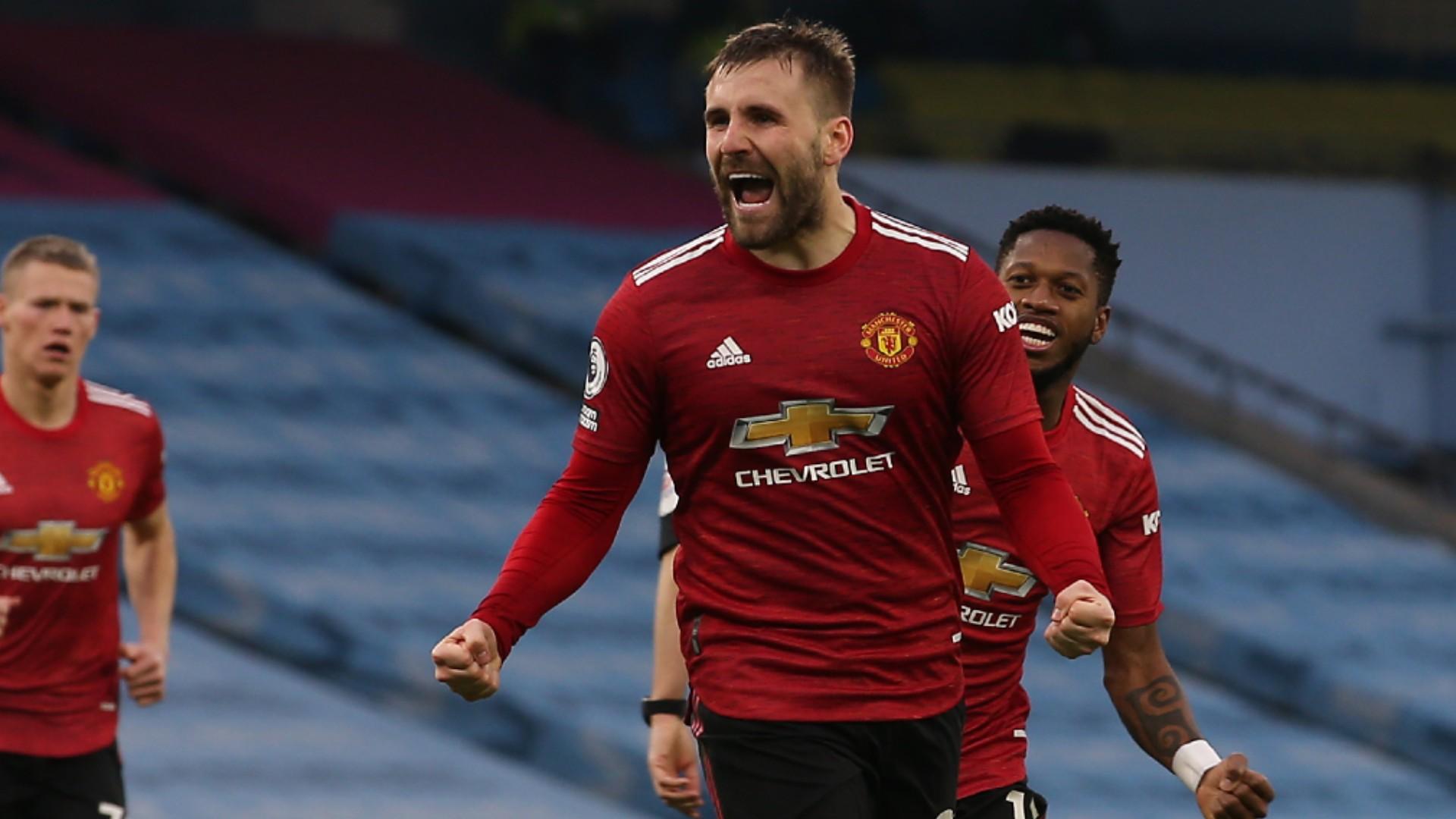 Man Utd boss Solskjaer hails 'absolutely incredible' Shaw, offers Rashford injury update after derby delight