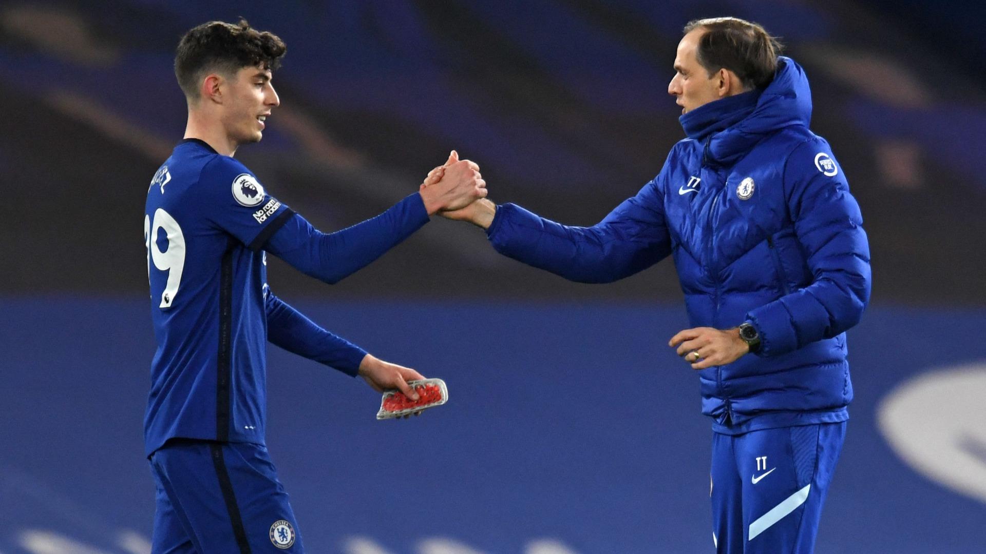Havertz's 'excellent' display thrills Chelsea boss Tuchel