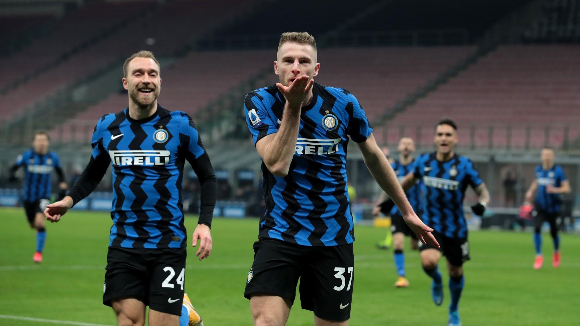 Inter 1-0 Atalanta: Skriniar strikes to lift Serie A leaders clear