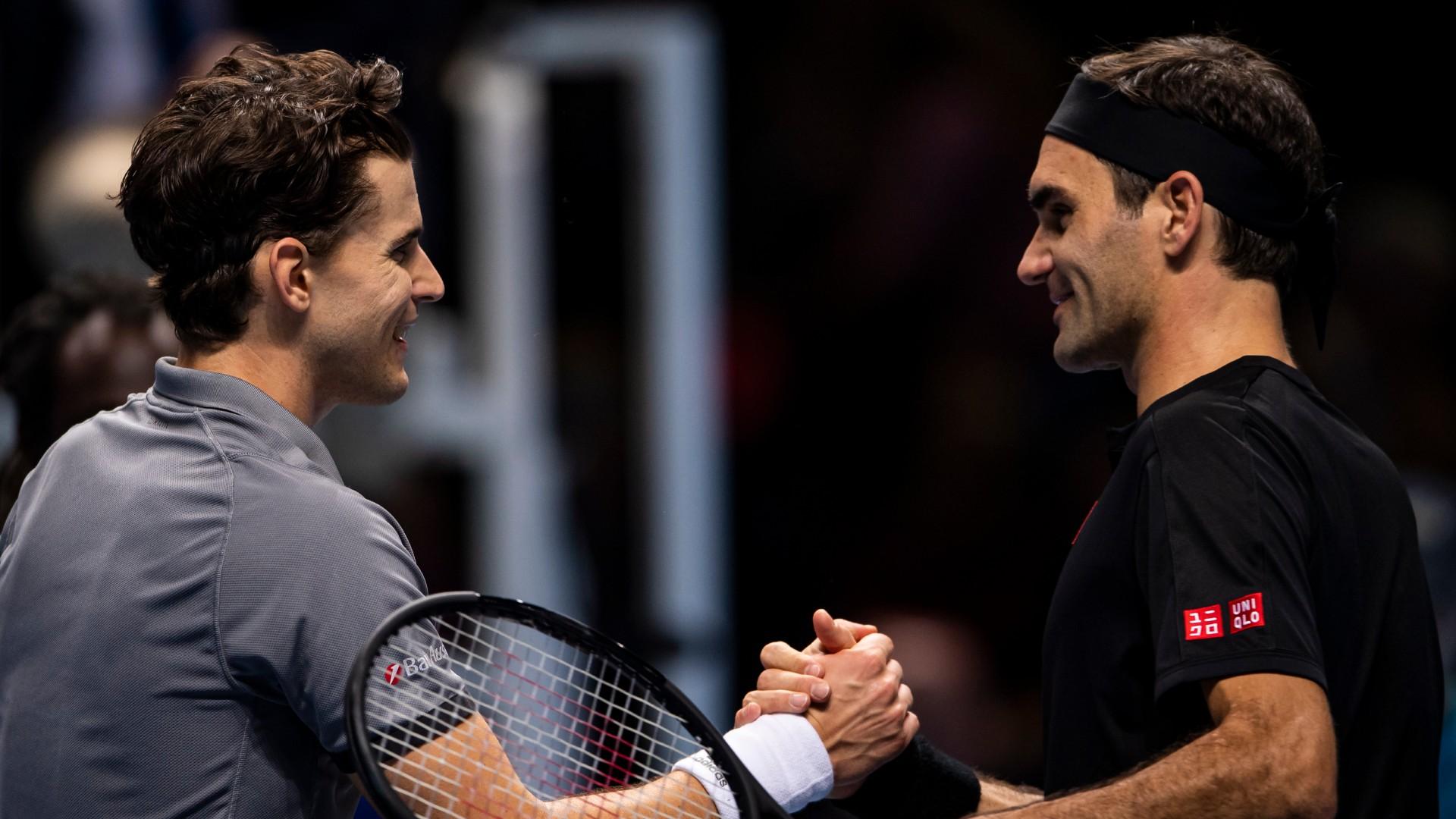 Thiem relishing Federer's ATP Tour comeback