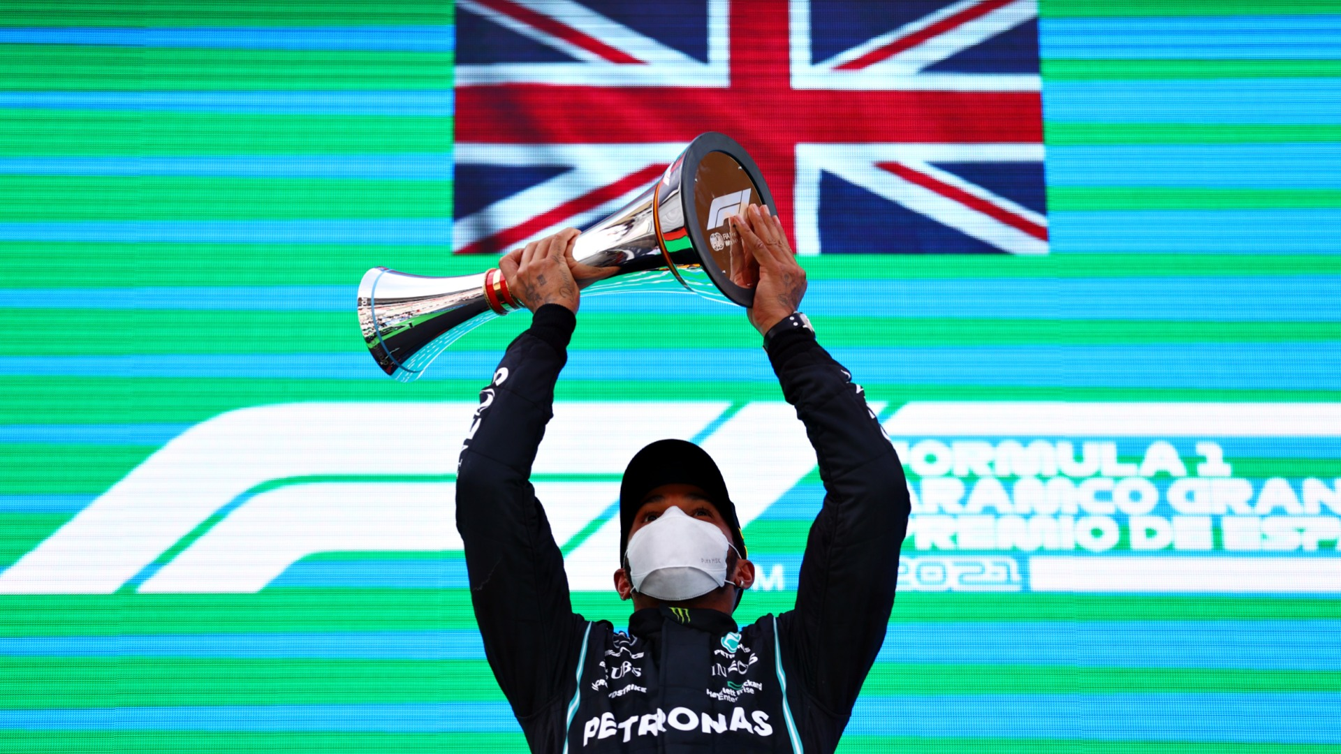 Hamilton delighted to cash in on Mercedes' Spanish Grand Prix 'gamble'