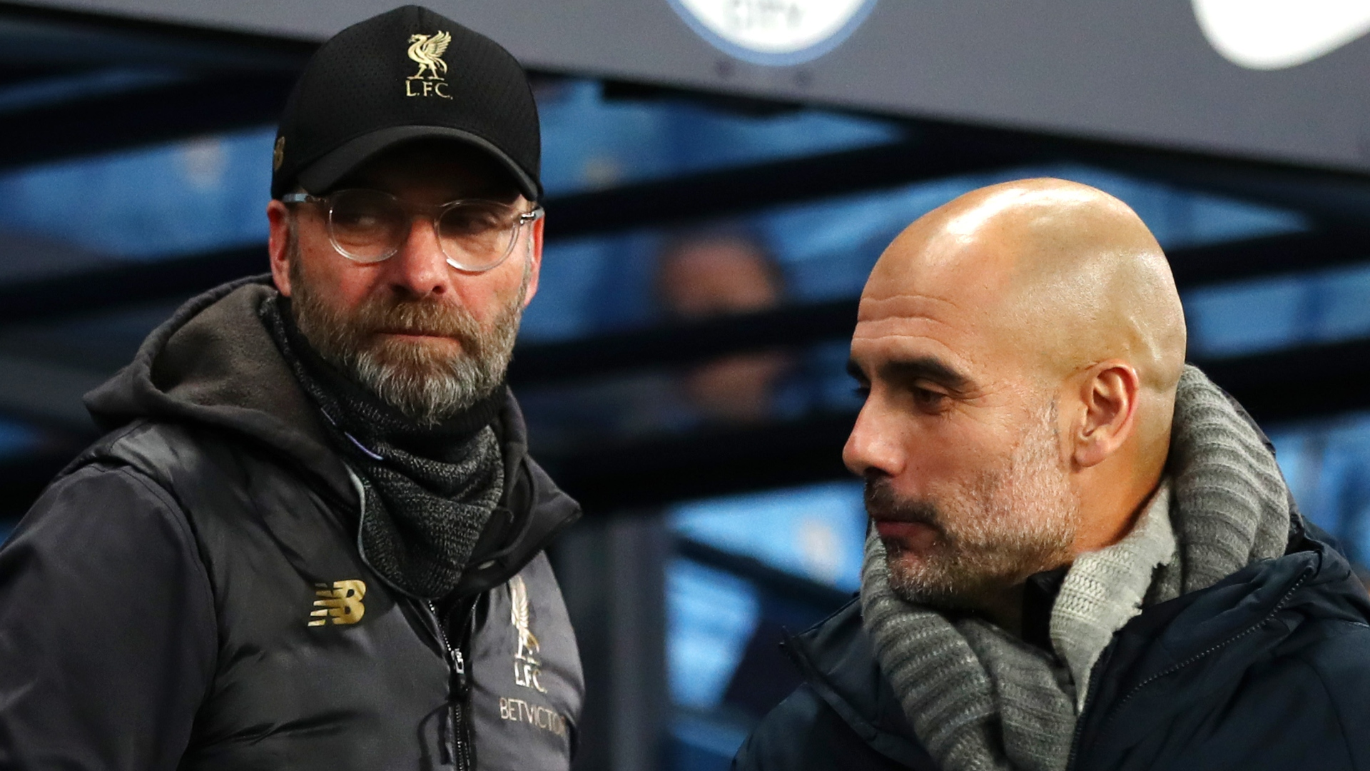 Guardiola thanks Liverpool boss Klopp for title text: He made me a better manager