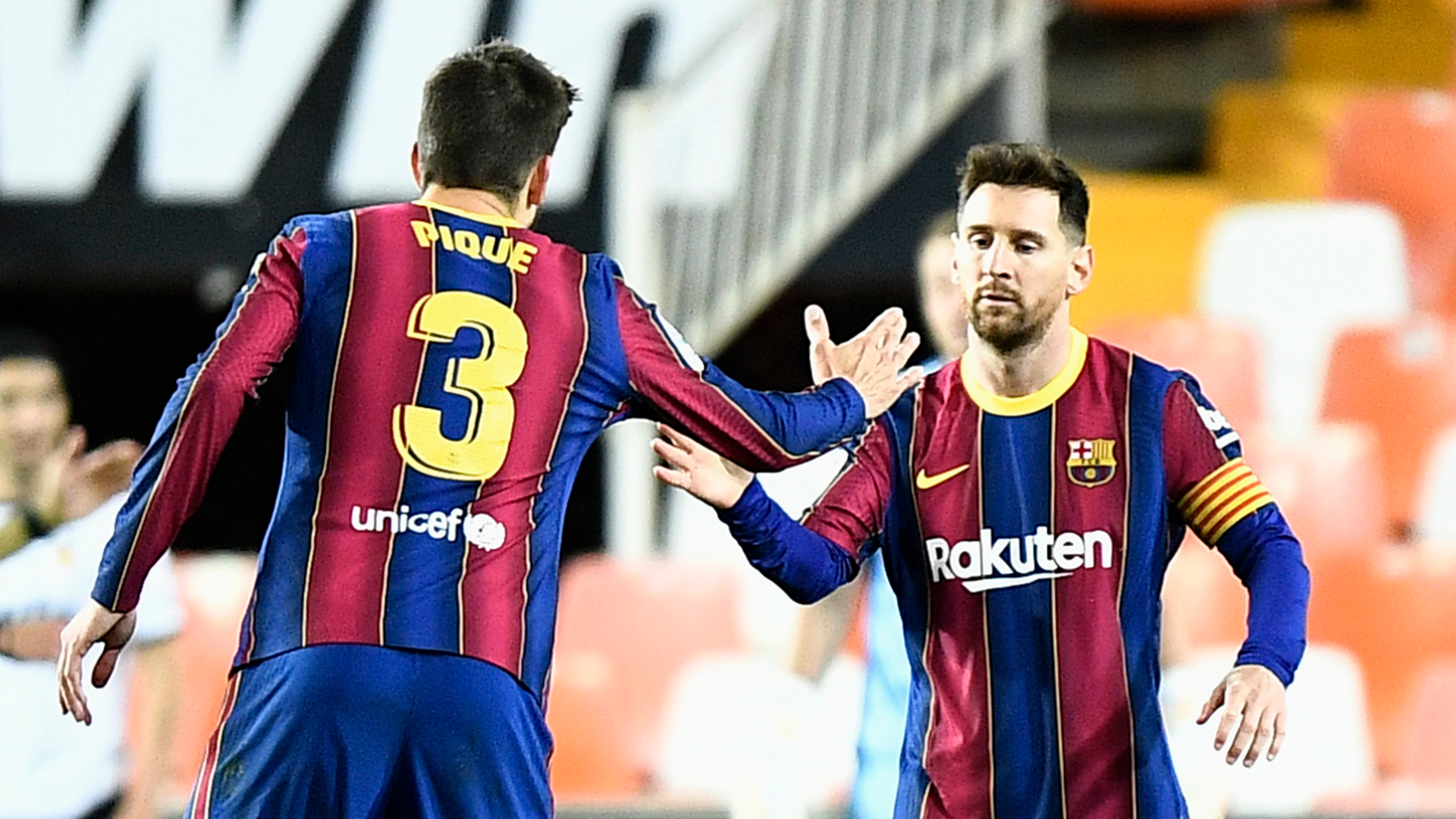Pique braced for dramatic finale to LaLiga as Messi boosts Barcelona