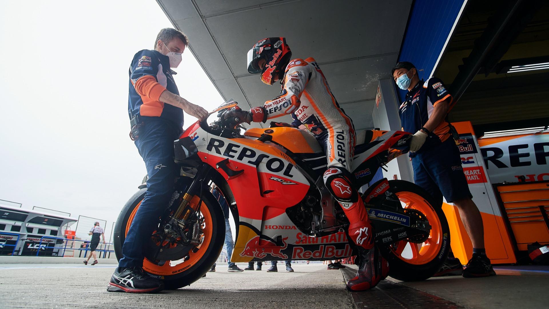 Marquez limited to seven laps at Jerez test after Spanish GP crash