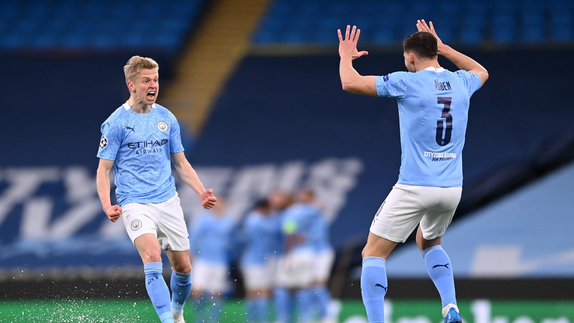 Man City come through blizzard of chaos to reach maiden Champions League final
