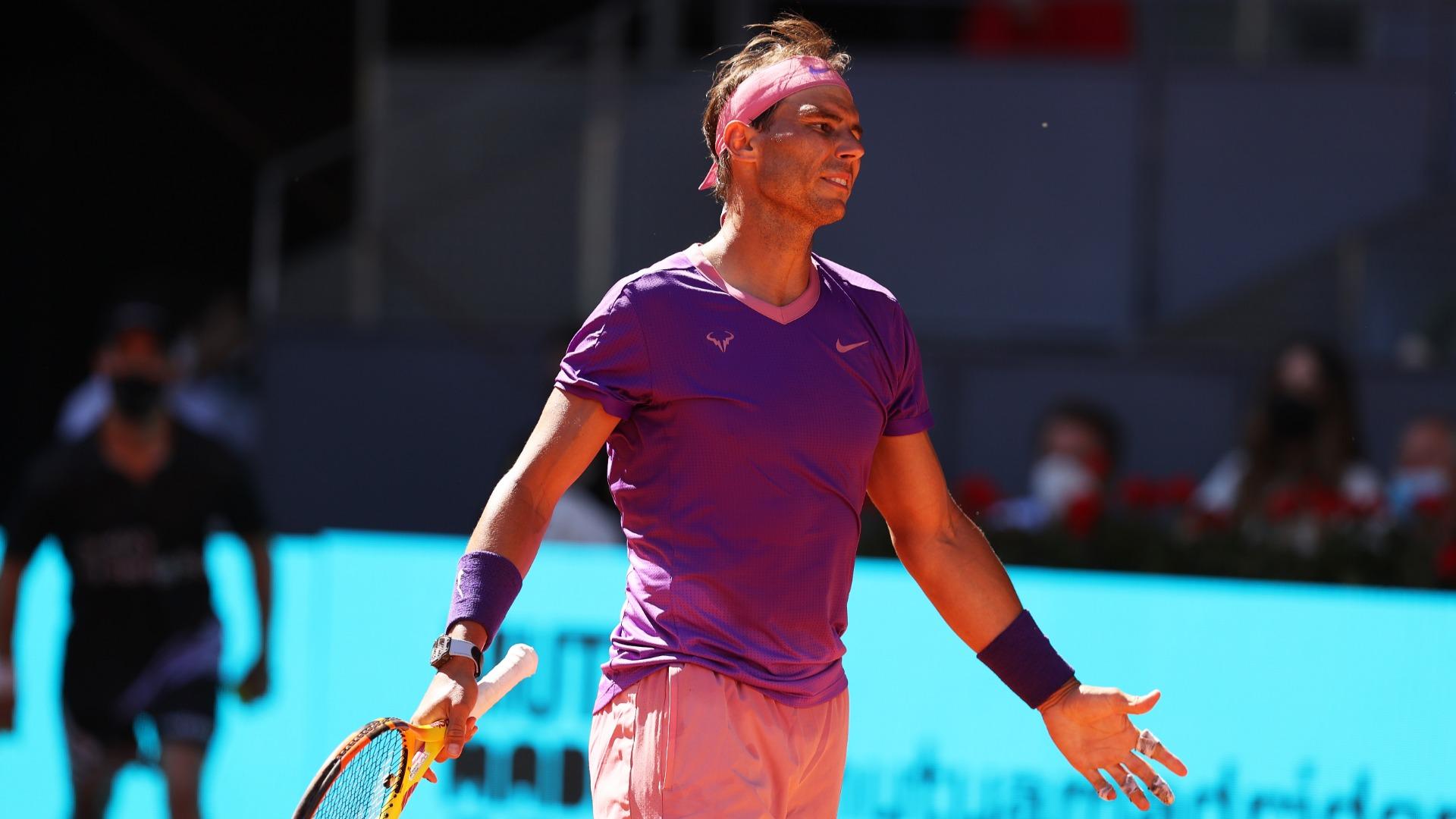 Nadal: Zverev defeat very difficult to understand