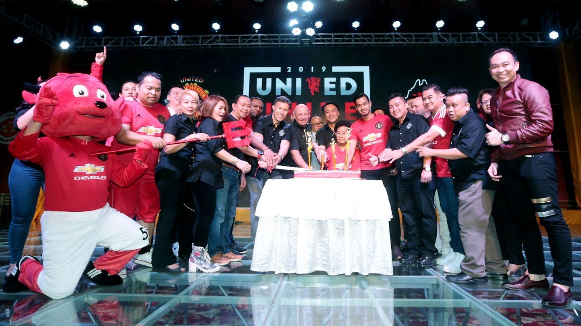 Legenda Red Devils Meriahkan Makan Malam United Malaysia
