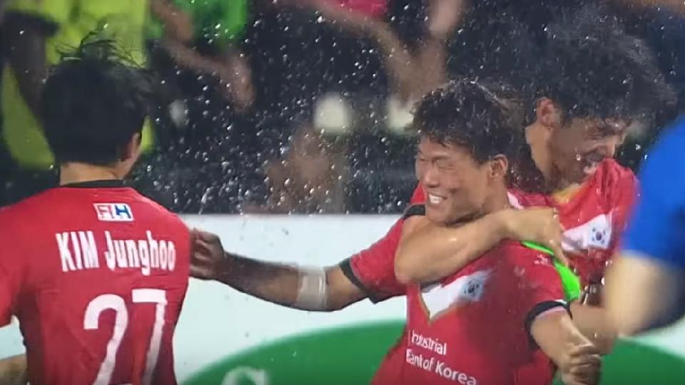 South Korea score outrageous penalty to win Sultan Azlan