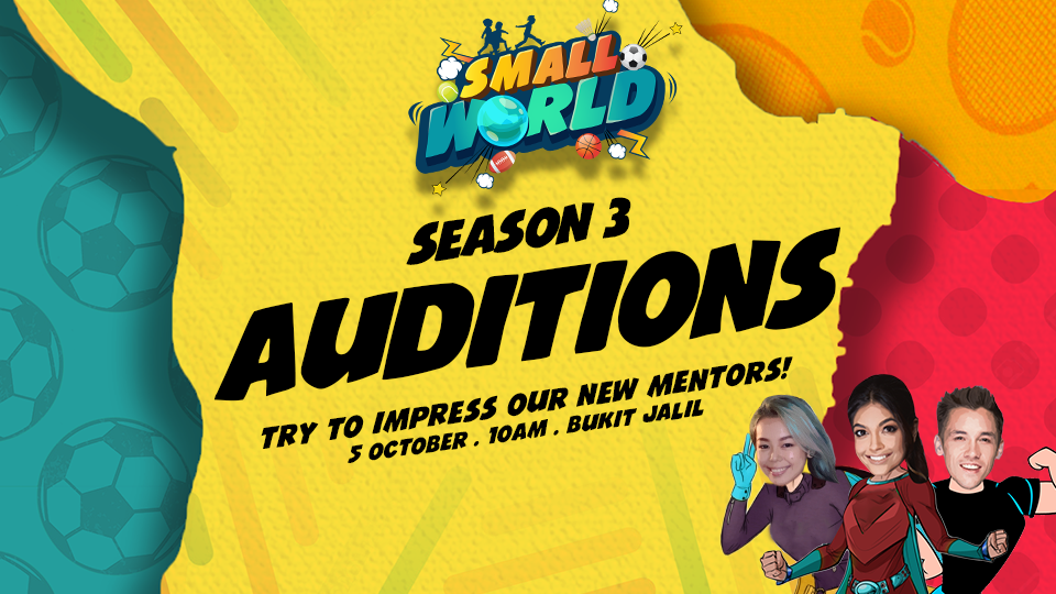 Registration open for Small World Season 3 audition | OTHERS